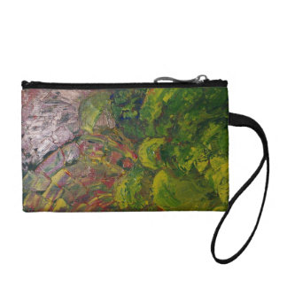 Abstract Grapes Coin Wallet