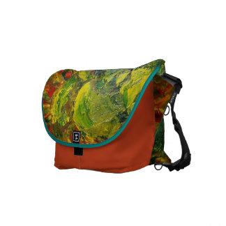 Abstract Grapes Messenger Bag