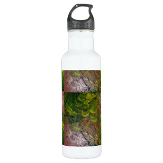 Abstract Grapes Water Bottle
