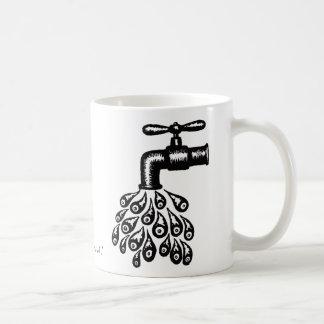 Abstract graphic art cool mug design