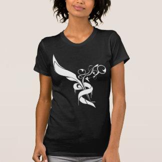 Abstract graphic art flying custom t-shirt