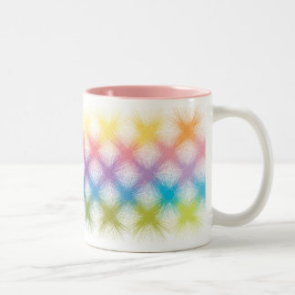 abstract graphic cup