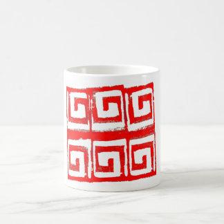 abstract graphic design mug 002