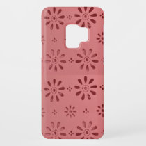 Abstract Graphic Flowers Floral Template add TEXT Case-Mate Samsung Galaxy S9 Case
