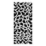 Abstract Graphic Pattern Black and White. Announcements