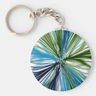 Abstract Grass Keychains