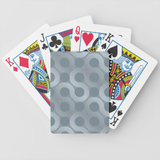 Abstract gray flow background bicycle playing cards