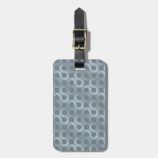 Abstract gray flow background bag tags