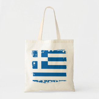 Abstract Greece Flag, Greek Artwork Bag