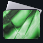 """Abstract Green 15 Inch Laptop Sleeve<br><div class=""""desc"""">Abstract Green Neoprene Laptop Sleeve - 15 Inch Cool laptop sleeve. Made with 100% neoprene,  lightweight and water resistant.</div>"""
