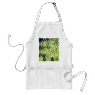 ABSTRACT GREEN 1 APRON