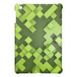 abstract green background iPad mini cover