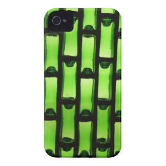 Abstract Green Bottle Pattern iPhone 4 Cover