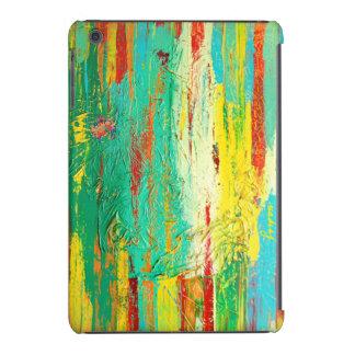 Abstract Green Colorful Case iPad Mini Retina Cases