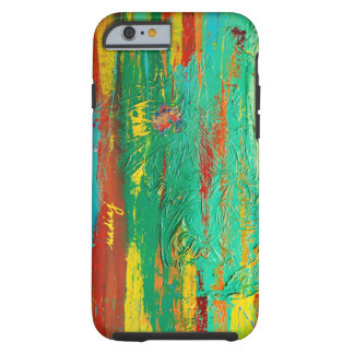 Abstract Green Colorful Phone Case iPhone 5 Cases