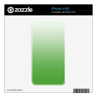 Abstract  - green. decal for the iPhone 4