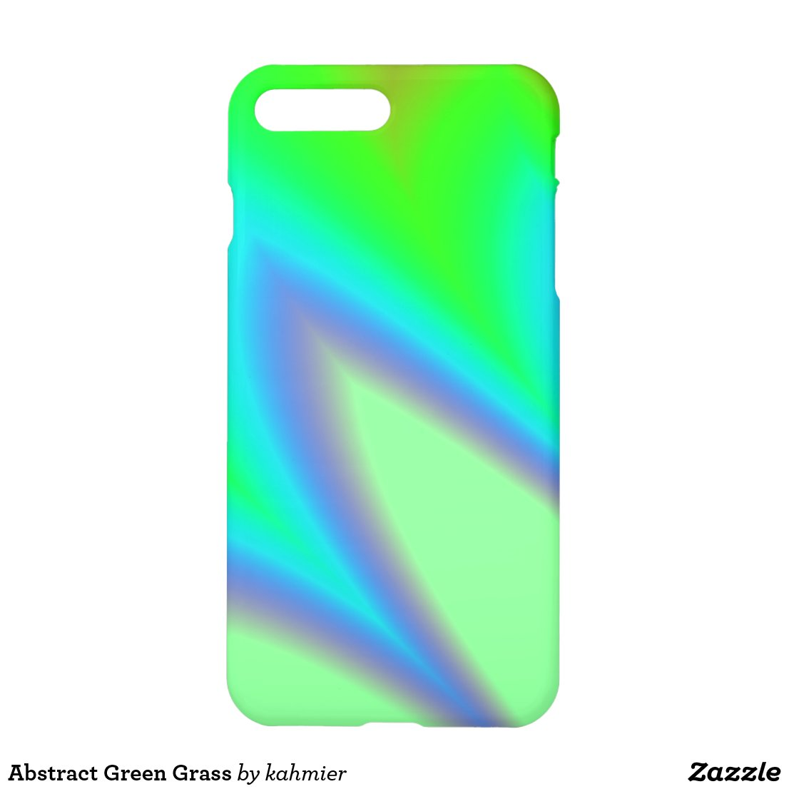 Abstract Green Grass iPhone 7 Plus Case