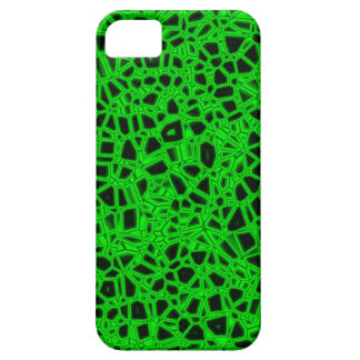 Abstract Green Kryptonite iPhone 5 Cases