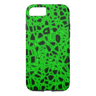 Abstract Green Kryptonite iPhone 8/7 Case