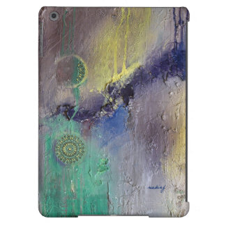 Abstract Green Lilac Arabesque Case iPad Air Covers