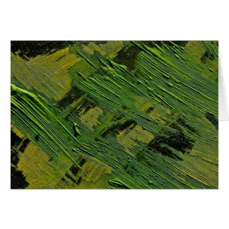 Abstract Green on black Cards