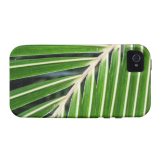 Abstract Green Palm Leaf iPhone 4/4S Cover