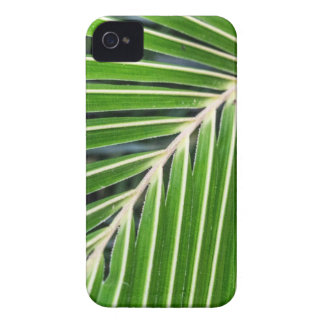Abstract Green Palm Leaf iPhone 4 Case-Mate Cases