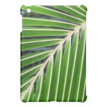 Abstract Green Palm Leaf iPad Mini Cover