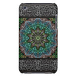 Abstract Green Peacock Tile 16 Barely There iPod Case