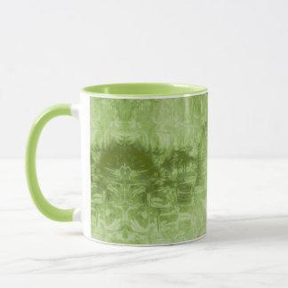 Abstract Green Texture Mug