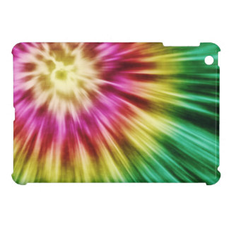 Abstract Green Tie Dye iPad Mini Cases