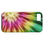 Abstract Green Tie Dye iPhone 5 Case