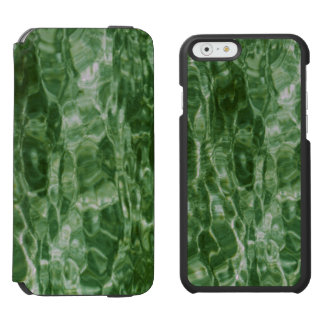 Abstract Green Water iPhone 6/6s Wallet Case