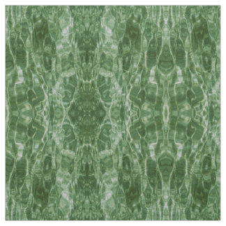 Abstract Green Water Photo Fabric