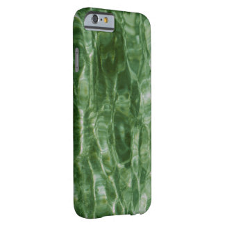 Abstract Green Water Ripples Barely There iPhone 6 Case