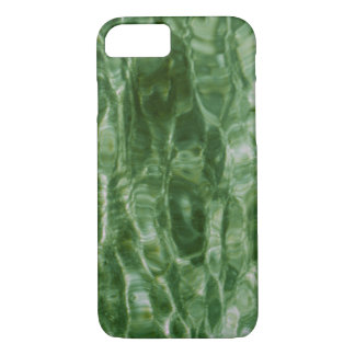 Abstract Green Water Ripples iPhone 7 Case