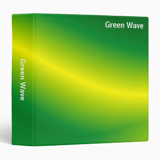 Abstract - Green Wave (1.5in) Binder