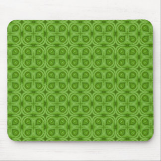 Abstract green Wood Pattern Mouse Pad