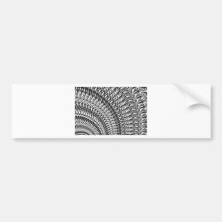 Abstract-grey Bumper Sticker