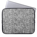 abstract grey modern geometric pattern texture computer sleeve