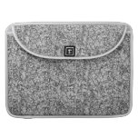 abstract grey modern geometric pattern texture sleeve for MacBooks