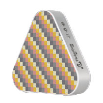 Abstract Grid Color Pattern Bluetooth Speaker