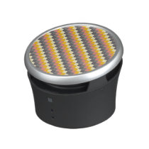 Abstract Grid Color Pattern Speaker