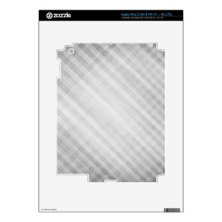abstract grid pattern decal for iPad 3