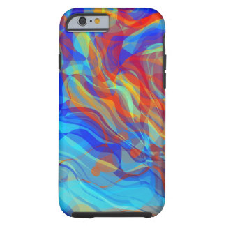 Abstract Groovy Life Tough iPhone 6 Case
