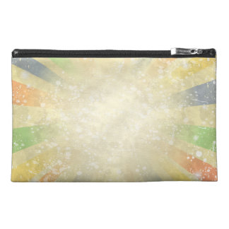 Abstract grunge background travel accessories bag