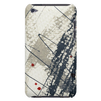 Abstract grunge background, ink texture. 2 barely there iPod cover