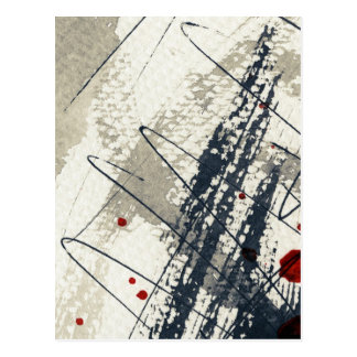Abstract grunge background, ink texture. 2 postcard