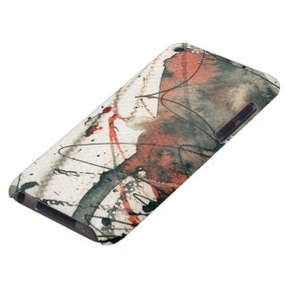Abstract grunge background, ink texture. 5 iPod touch cover
