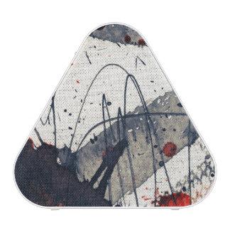 Abstract grunge background, ink texture. speaker